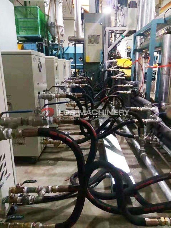 LDS machinery temperature control unit