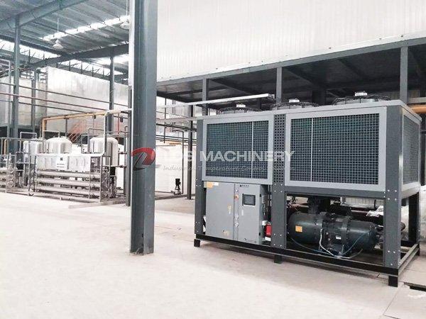 Electrophoresis Process cooling machine