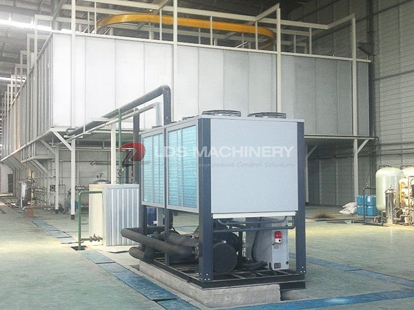 air cooled screw Chiller For The Painting Equipment